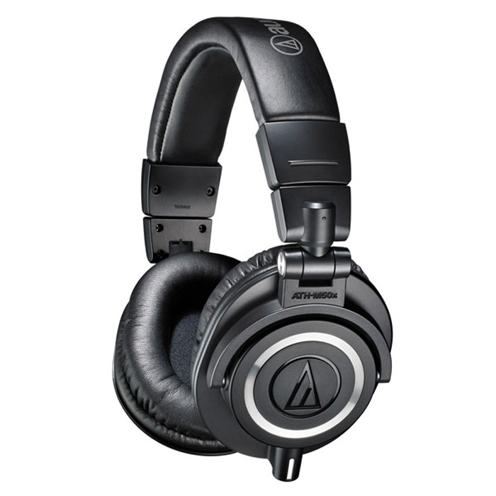 Audio-Technica ATH-M50X, Black наушники наушники audio technica ath m50x black