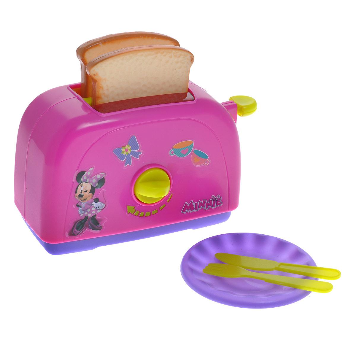 Simba Игровой набор Minnie Mouse: Тостер, 6 предметов simba игровой набор домик медведя
