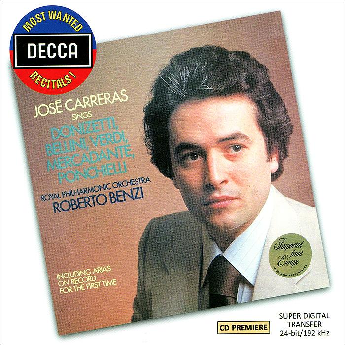 Jose Carreras. Sings Opera Arias cd jose carreras a life in music