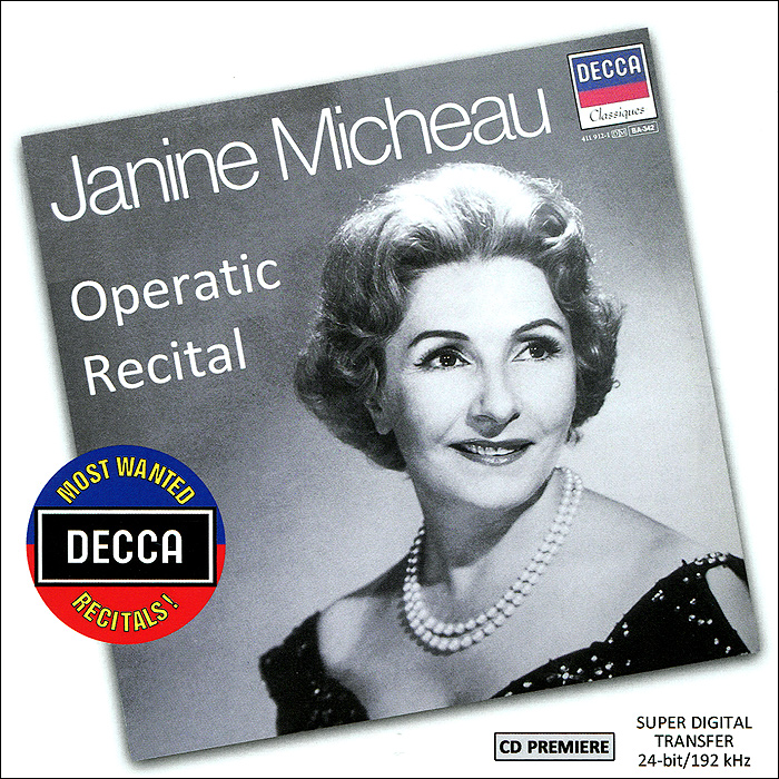 Janine Micheau. Operatic Recital janine warner dreamweaver cc for dummies