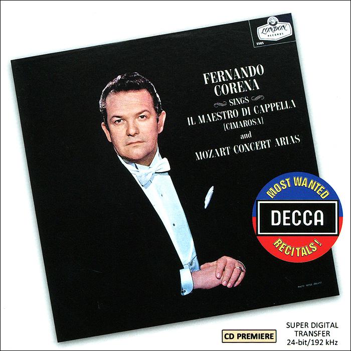 Фернандо Корена A Recital Of Mozart. Arias By Fernando Corena