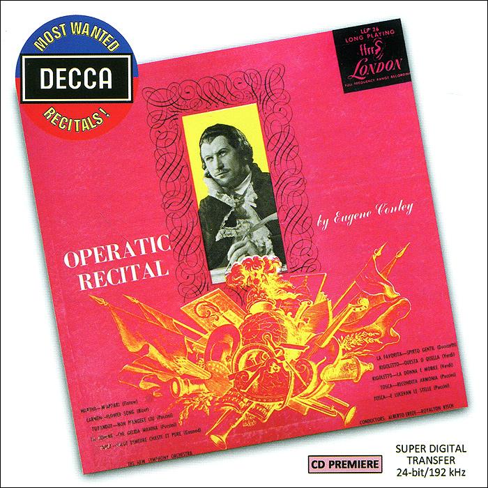 Operatic Recital By Eugene Conley
