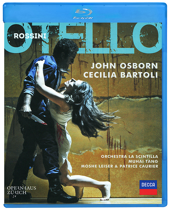 Rossini, Cecilia Bartoli: Otello (Blu-ray) чечилия бартоли cecilia bartoli sacrificium deluxe edition 2 cd dvd