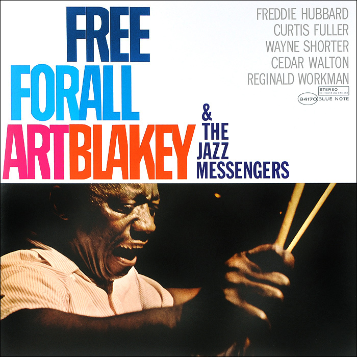 Арт Блэйки,The Jazz Messengers Art Blakey & The Jazz Messengers. Free For All (LP)