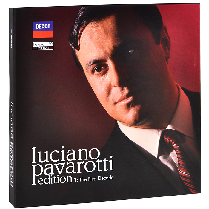 Лучано Паваротти Luciano Pavarotti. Edition 1. The First Decade (27 CD + LP) sere