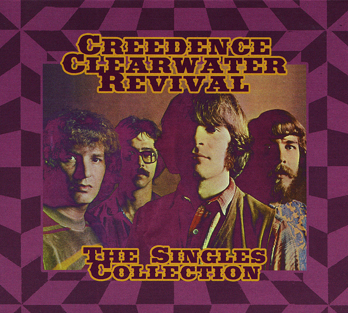 Creedence Clearwater Revival Creedence Clearwater Revival. The Singles Collection (2 CD + DVD) creedence clearwater revival creedence clearwater revival the singles collection 2 cd dvd