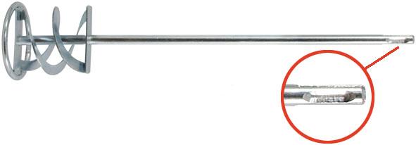 Миксер для смешивания строительных смесей FIT, хвостовик SDS-PLUS, 14 см х 60 см