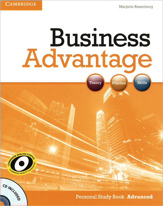 Business Advantage: Personal Study Book Advanced (+ CD-ROM)