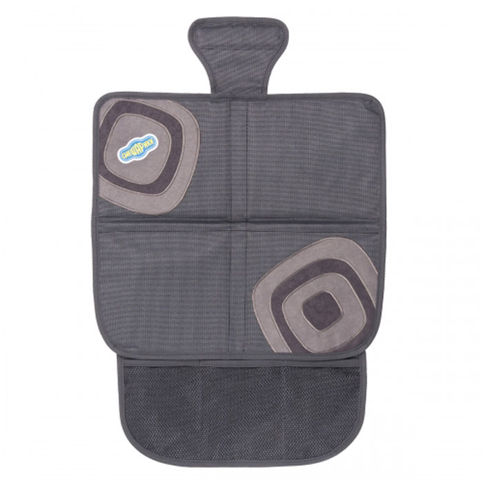 Защитная накидка под бустер Смешарики, цвет: серый защитная накидка смешарики под детское кресло цвет серый 118 х 48 см