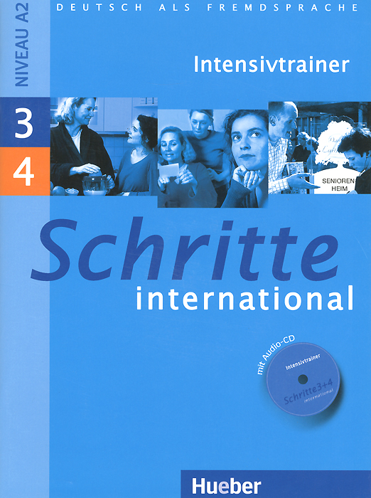 Schritte International 3, 4: Intensivtrainer (+ CD)