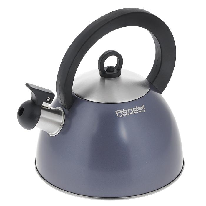 Чайник Rondell Flute, со свистком, 2 лRDS-362Чайник Rondell Flute изготовлен из высококачественной нержавеющей стали 18/10, благодаря чему не подвержен коррозии, устойчив к органическим кислотам, долговечен и прост в уходе. Капсулированное дно чайника способствует быстрому закипанию воды даже при небольшой мощности конфорок. Стильное водно-силиконовое покрытие легко в уходе и обеспечивает безупречный внешний вид. Аксессуары выполнены из бакелита. Эргономичная ручка делает использование чайника очень удобным и безопасным. Наличие свистка позволяет следить за кипением чайника. Свисток снабжен стальной сердцевиной и устройством для открывания носика. Стильный дизайн изделия украсит любую кухню.Чайник подходит для использования на всех видах плит, включая индукционные. Нельзя мыть в посудомоечной машине. Характеристики:Материал: нержавеющая сталь 18/10, бакелит. Объем: 2 л. Диаметр основания чайника: 20 см. Высота чайника (без учета крышки и ручки): 12 см. Высота чайника (с учетом ручки): 22 см. Посуда Rondell совсем недавно появилась на российском рынке, но уже прекрасно себязарекомендовала. Эту посуду по достоинству оценили тысячи любителей кулинарии, арекомендации профессионалов - шеф-поваров многих ресторанов и ведущих популярныхкулинарных программ служат дополнительным весомым аргументом в ее пользу.Профессиональные технологии, изысканный дизайн и широкий ассортимент делают посудуRondell исключительно привлекательной для всех, кто любит и умеет готовить.