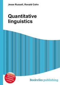 Quantitative linguistics sociobiogenetic linguistics