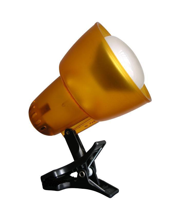 Настольный светильник Ультра ЛАЙТ KT034B прозр-оранжA6631SP-1WH