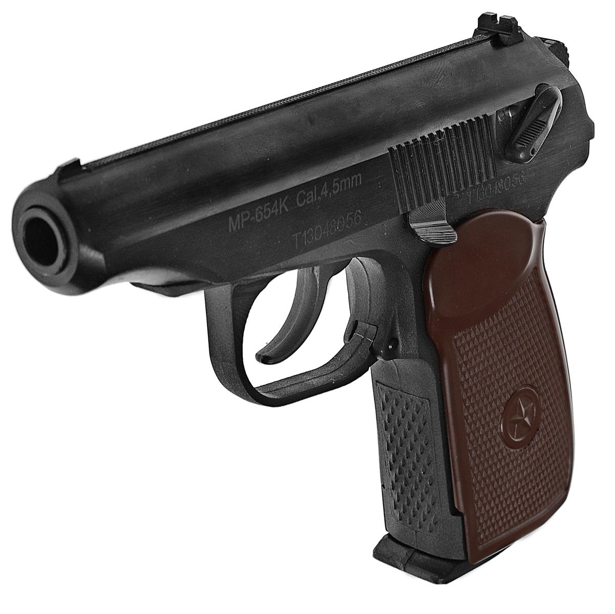 Байкал МР-654К-20 пистолет пневматический, NBB, CO2, 4,5 мм пистолет пневматический калашников мр 651кс 07