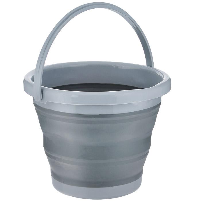 Ведро складное Bohmann, пластиковое, с резиновой вставкой, 5 л02505BHСкладное ведро Bohmann выполнено из пластика и оснащено резиновой вставкой. Материал не токсичен, вы можете использовать его для пищевых продуктов, для сбора урожая и т.д. Удобная ручка выполнена из прочного пластика. Края ведра снабжены сливом и петелькой для подвешивания. Ведро легко и удобно хранить - в сложенном виде высота ведра всего 5 см. Вы можете поместить его в шкафу, повесить на стену, или взять с собой в путешествие в машину, на дачу. Материал выдерживает температуру от -45°С до +90°С.Нельзя мыть в посудомоечной машине. Характеристики:Материал: пластик, резина. Объем ведра: 5 л. Диаметр ведра по верхнему краю: 25 см. Высота ведра (в разложенном виде): 20 см. Высота ведра (в сложенном виде): 5 см.