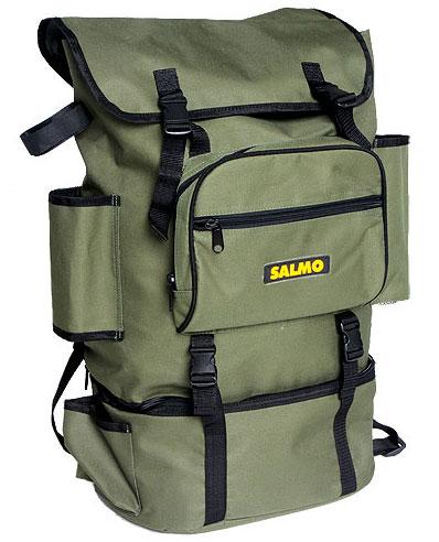 Рюкзак забродный Salmo 20+10 л, цвет: зеленый рюкзак рыболовный salmo 105л