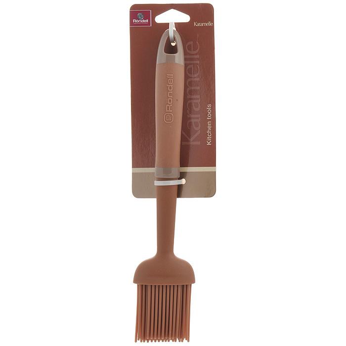 Кисть кулинарная Rondell KaramelleRD-627Кулинарная кисть Rondell Karamelle выполнена из силикона. Очень удобная ручка из обрезиненного пластика не позволит выскользнуть кисти из вашей руки. Максимальная температура нагрева рабочей поверхности 200°C. Кулинарная кисть предназначена для смазывания соусом и маринадом мяса, или маслом пирогов. Нежные силиконовые ворсинки легко гнутся, поэтому если вы будете использовать кисть для смазывания пирога с рельефным украшением - можно не бояться - кисть его не повредит.Стильная кулинарная кисть Rondell Karamelle займет достойное место среди аксессуаров на вашей кухне. Оригинальный дизайн и качество исполнения не оставят равнодушными ни тех, кто любит готовить, ни опытных профессионалов-поваров. Изделие можно мыть в посудомоечной машине. Характеристики:Материал: силикон, нейлон, пластик. Длина кисти: 25 см. Длина ворсинок: 5 см. Посуда Rondell совсем недавно появилась на российском рынке, но уже прекрасно себязарекомендовала. Эту посуду по достоинству оценили тысячи любителей кулинарии, арекомендации профессионалов - шеф-поваров многих ресторанов и ведущих популярныхкулинарных программ служат дополнительным весомым аргументом в ее пользу.Профессиональные технологии, изысканный дизайн и широкий ассортимент делают посудуRondell исключительно привлекательной для всех, кто любит и умеет готовить.