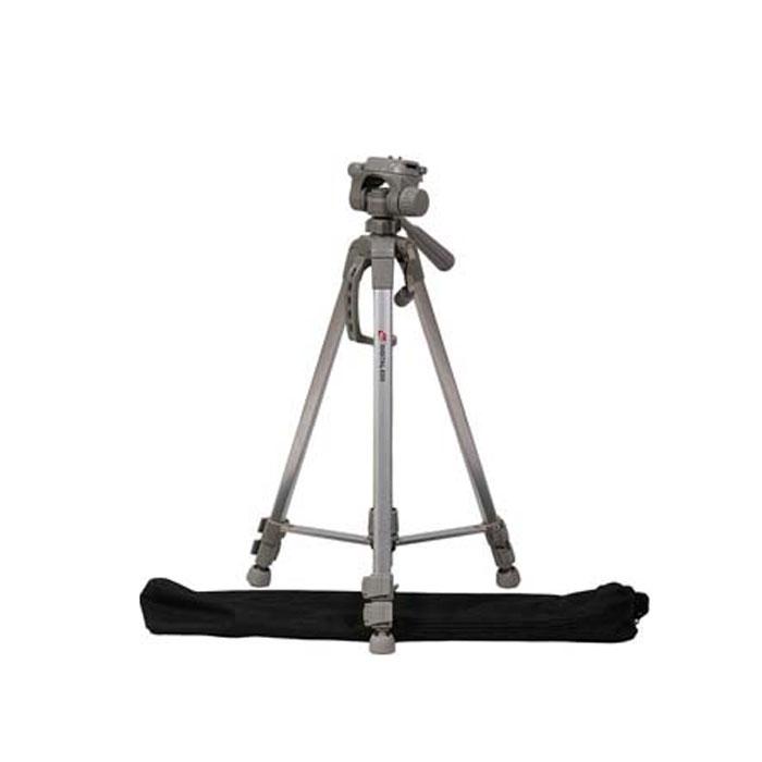 Era ED-5 штативED-5;ED-5Штатив Era ED-5 серии Classic Advanced. Легкий, компактный, и, вместе с тем, прочный и надежный штатив для фото- видеокамеры. Идеальноподходит для большинства любительских и профессиональных фото- видеокамер.