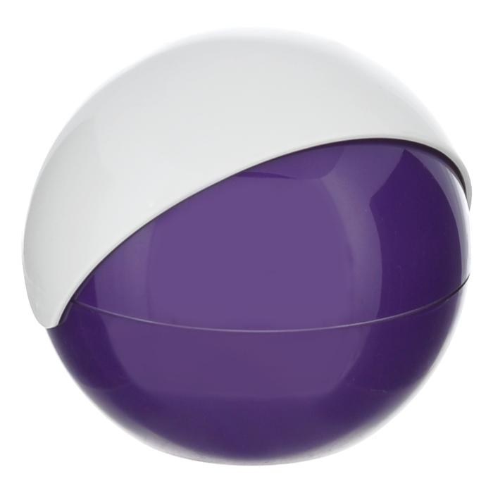 Сахарница Apollo Menthe, цвет: белый, фиолетовыйMNT-02Сахарница Apollo Menthe с подвижной крышкой изготовлена из пищевого пластика. Она имеет круглую форму и эргономичный дизайн. Такая сахарница придется по вкусу и ценителям классики, и тем, кто предпочитает утонченность и изысканность. Сахарница послужит не только приятным подарком, но и практичным сувениром. Характеристики:Материал: пластик. Диаметр сахарницы: 12 см. Высота сахарницы: 11 см.