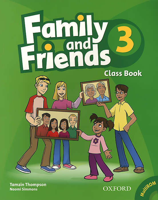 Family and Friends 3: Class Book (+ CD-ROM) hot spot level 3 teacher s book cd rom