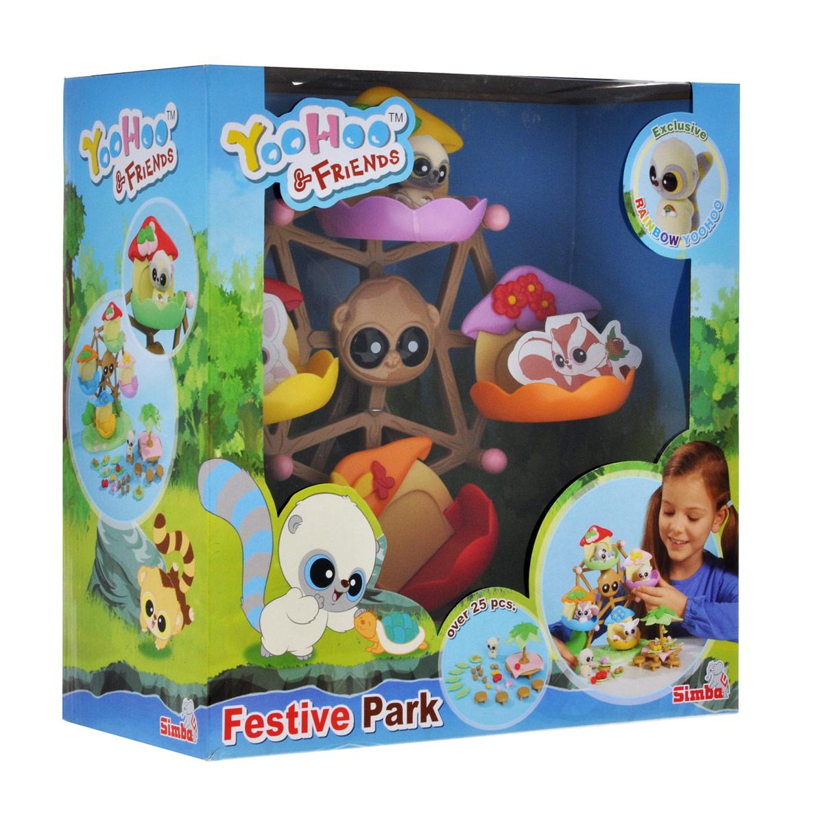 Simba Игровой набор YooHoo & Friends Каруселька стол для пикника купить в интернет магазине
