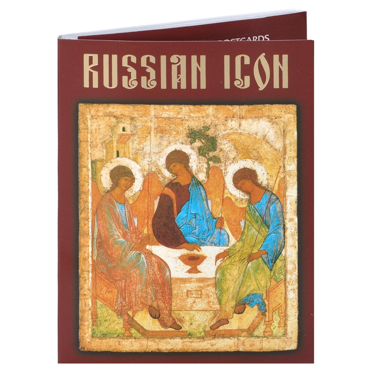Russian Icon / Русская икона (набор из 16 открыток)