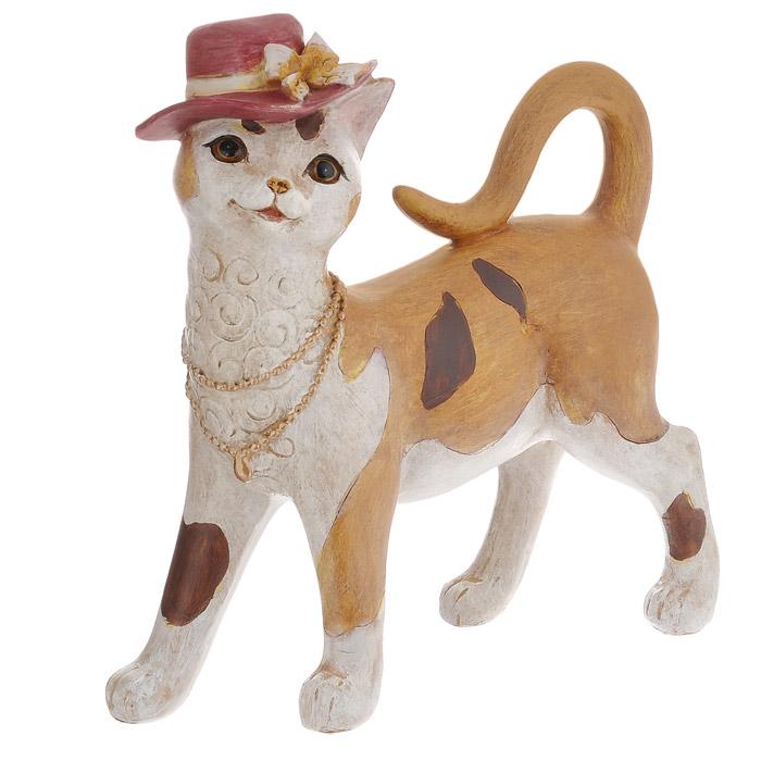 Декоративная статуэтка Феникс-презент Кошка. 33851 статуэтка лежащий единорог золото 28 х 11 5 х 23 см