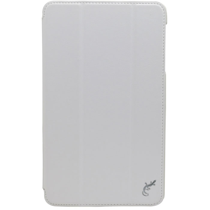 G-case Slim Premium чехол для Samsung Galaxy Tab Pro 8.4, WhiteGG-284G-case Slim Premium - чехол для Samsung Galaxy Tab Pro 8.4. Выполнен из высококачественной кожи и служит для защиты планшета от царапин,пыли и падений, надежно фиксирует Ваш гаджет, практически не утолщая его. В чехле G-Case Slim Premium все технические отверстия (под кнопкиуправления, разъем подключения гарнитуры, камеру) в точности выполнены по размерам и местоположению.