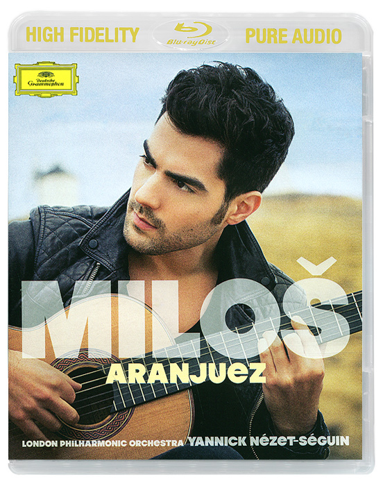 Милош Карадаглич,London Philharmonic Orchestra,Джанник Незет-Сегуин Milos Karadaglic. Aranjuez (Blu-ray Audio) цена 2017