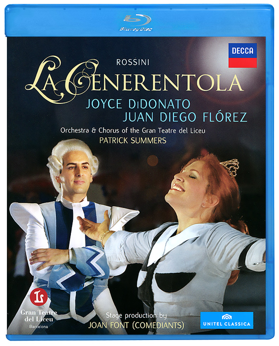 Rossini: La Cenerentola (Blu-ray) celine dion through the eyes of the world blu ray