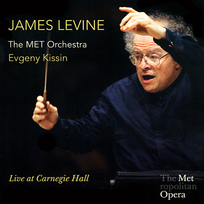 все цены на Джеймс Левайн,The Metropolitan Opera Orchestra James Levine. Live At Carnegie Hall (2 CD)