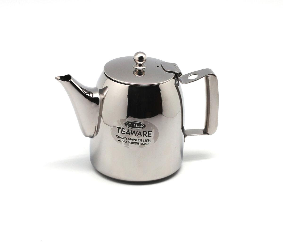 Чайник заварочный Silampos Stellar, цвет: металл, 1,08 л. 41281318ST03 мельница для кофе silampos stellar с ложкой