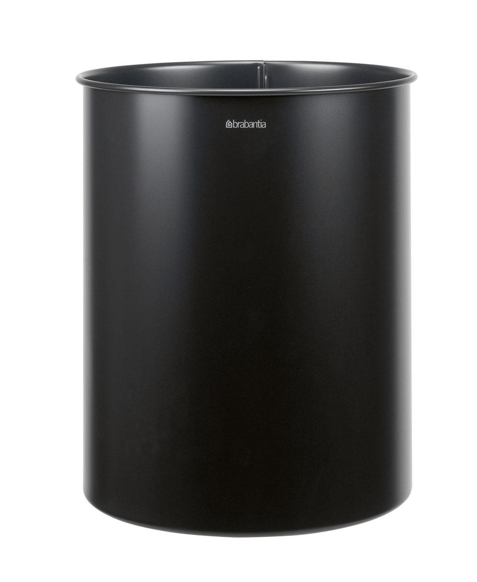 Корзина для бумаг Brabantia, цвет: черный, 15 л. 181443 корзина для белья brabantia 109362 35л