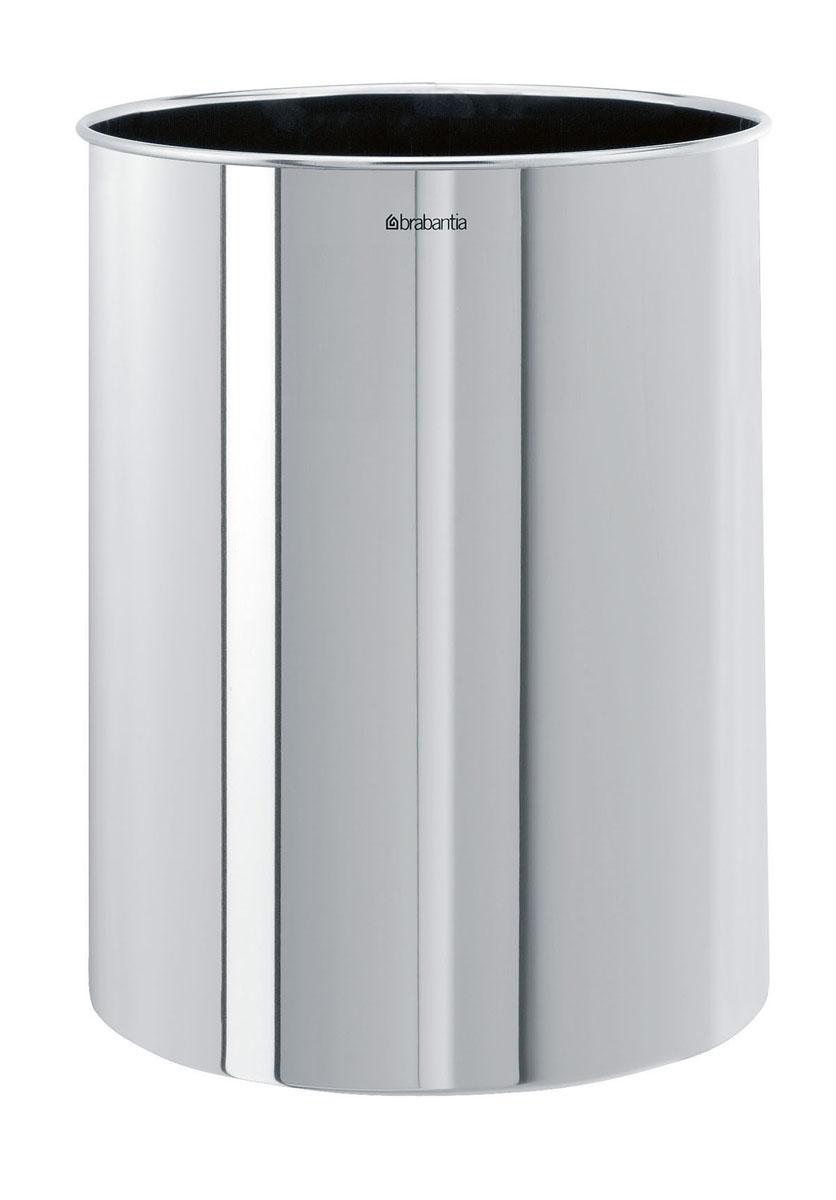 Корзина для бумаг  Brabantia , цвет: стальной полированный, 15 л. 181467 -  Корзины для бумаг