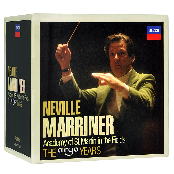 Нэвилл Мерринер,Academy Of St. Martin In The Fields Neville Marriner, Academy Of St. Martin In The Fields. The Argo Years (28 CD)
