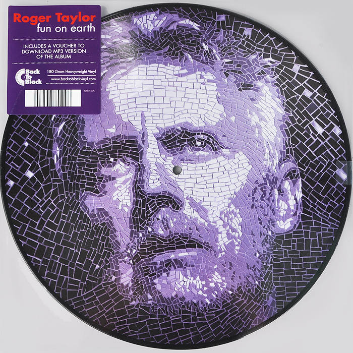 Роджер Тейлор Roger Taylor. Fun On Earth (2 LP) сесил тэйлор cecil taylor unit structures lp