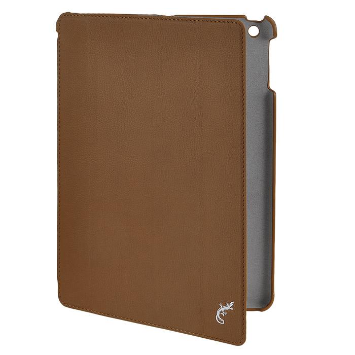 G-case Elegant чехол для iPad Air, CoffeeGG-237G-Case Elegant - это качественный, функциональный и стильный кожаный чехол для iPad Air, который станетотличным решением для защиты Вашего планшетного компьютера от пыли, ударов и царапин. При этом он не затрудняет доступ к iPad и обеспечивает высокий высокий уровень удобства при его использовании. Сам чехол изготовлен из высококачественной кожи как снаружи, так и внутри чехла, благодаря чему iPad Air останется в первозданном виде.В открытом виде Вам будут доступны все функциональные клавиши и разъемы iPad Air. В закрытом виде чехол G-Case Elegant не помешает заряжать iPad Air, фотографировать или слушать музыку. В G-Case Elegant устройство не становится толще или тяжелее, поэтому легко поместится в сумку. Такой чехол надежно защитит Ваш iPad Air во время эксплуатации и транспортировки. Впрочем, все эти качества наверняка оценят те, кто предпочитают комфортные и качественные вещи.