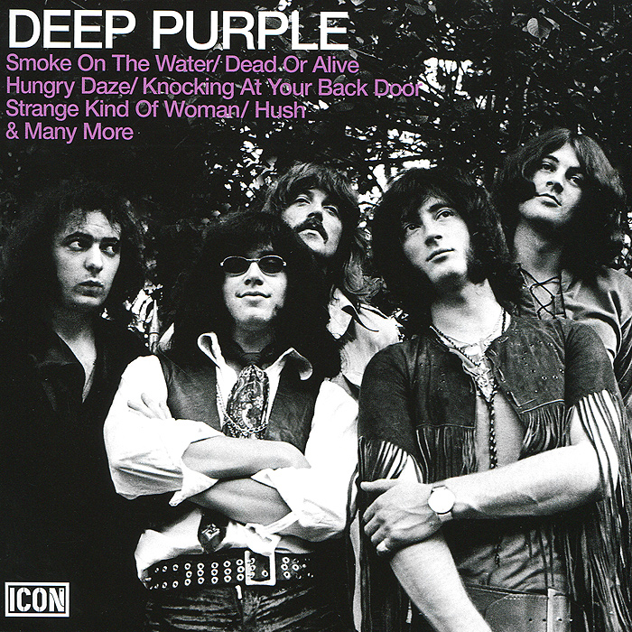 Deep Purple Deep Purple. Icon: Deep Purple deep purple deep purple made in japan