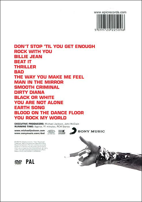Michael Jackson:  Number Ones MJJ Production Inc.