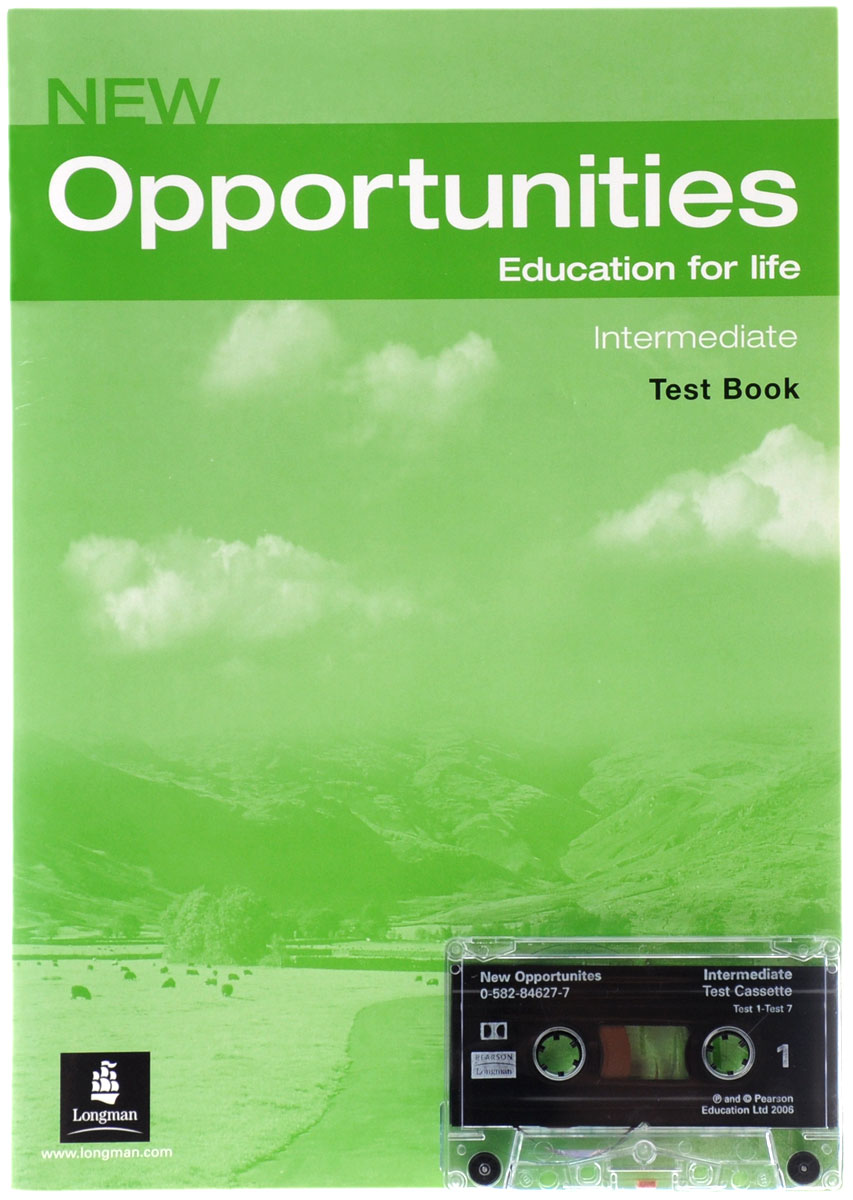 New Opportunities: Intermediate: Test Book (+ кассета) mackie g link intermediate wook book