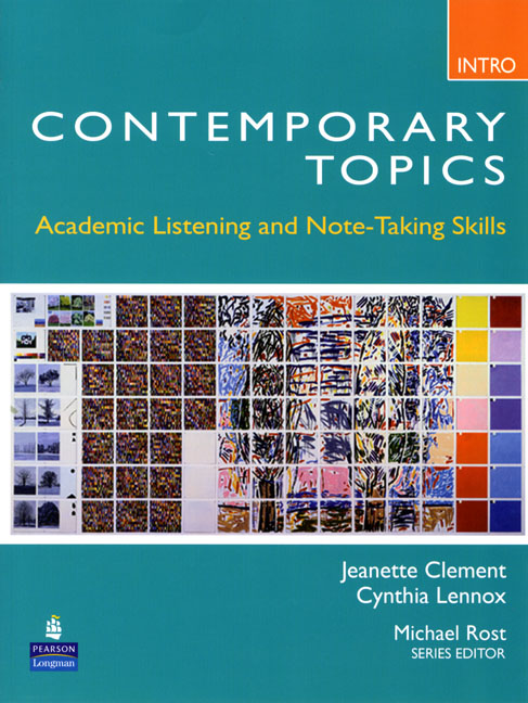 Contemporary Topics 3Ed Intr SB+DVD