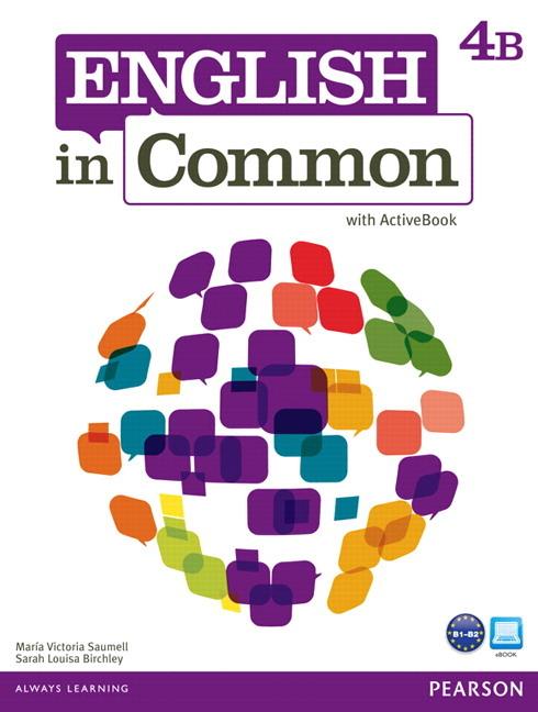 English in Common 4B Split: SB+ActBk+WB deixis in english
