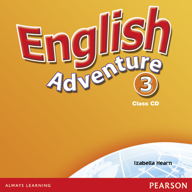 English Adventure: Level 3: Class CD (аудиокурс на 2 CD)