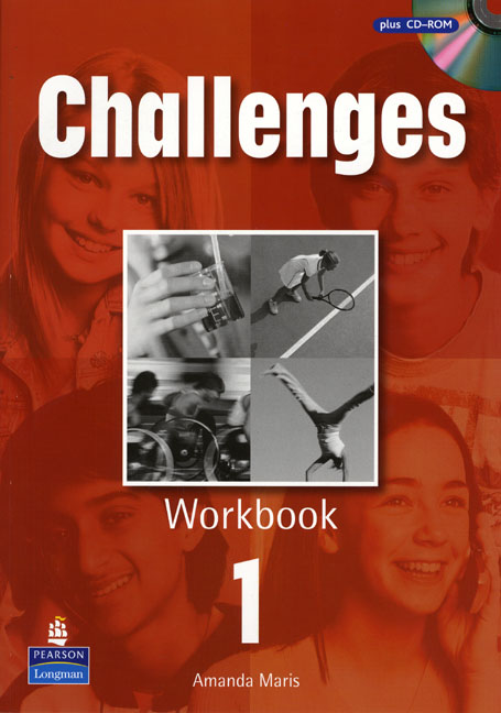 Challenges 1: Workbook (+ CD-ROM) amanda maris new challenges 1 workbook cd