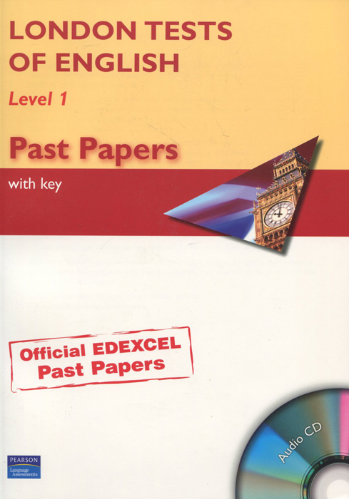 London Tests of English: Level 1: Past Papers with Key (+ CD) покрышка maxxis griffin dh мтб 26x2 40 tpi 60 сталь черный tb72919000
