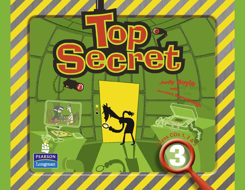 Top Secret 3 Cl Audio CDs !! top secret to795ewtdy28 top secret