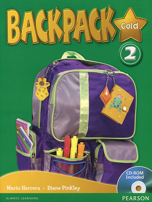 Backpack Gold 2: Student Book (+ CD-ROM) new eli picture dictionary cd rom german