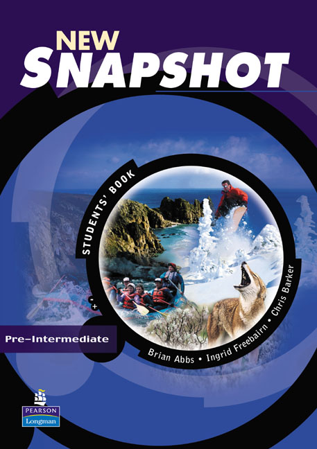 New Snapshot: Pre-Intermediate: Students' Book