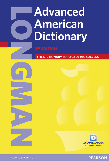 Longman Advanced American Dictionary (+ CD-ROM) summers d longman pocket activator dictionary