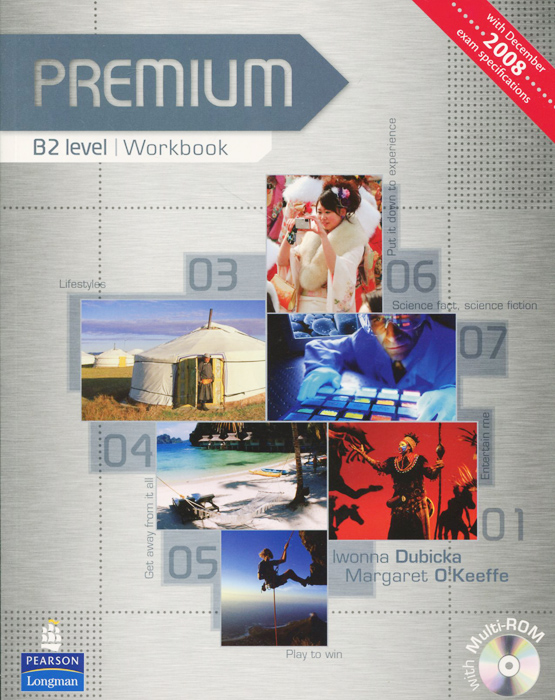 Premium B2: Workbook no Key (+ 2 CD-ROM) new total english intermediate workbook with key cd